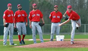 Boston Pitching staff