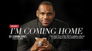LeBron Im Coming Home